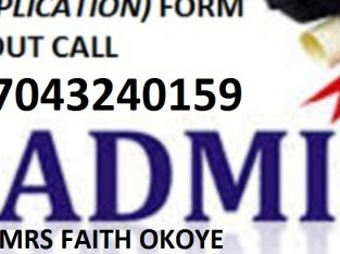 School of Health Technology, Ilesa, Osun State 2021/2022 Admission Form IS OUT C