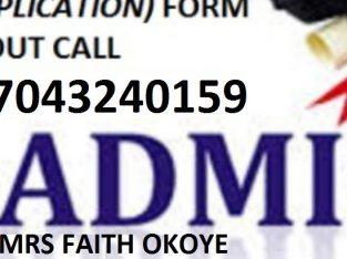 School of Nursing Adazi Nnukwu 2021/2022 nursing form is out call 07043240159..
