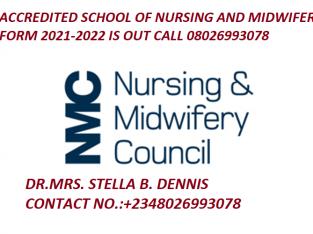 School of Nursing Seventh Day Adventist Hospital Osun 2021/2022 Admission Form i