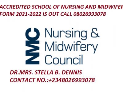 School of Nursing Hospital Kogi 2021/2022 Admission Form is out call 08026993078