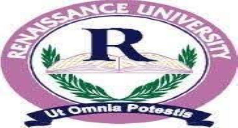 Renaissance University, Enugu 2021/2022 Admission List is Out (1st,2nd,3rd,4th B