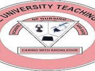 Ekiti State University Teaching Hospital,School of Nursing 2021/22 Admission