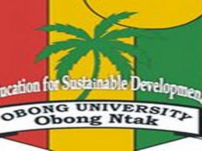 2021/2022 Obong University Admission Forms(Direct Entry Form And Post Utme Form)