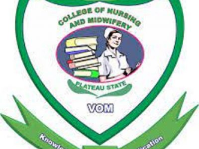 School of Nursing, Vom,Jos,Plateau State 2021/22 Session Admission Forms on sale