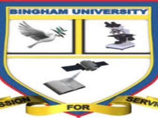 Bingham University, New Karu Supplementary Admission Form for 2021/2022 Session